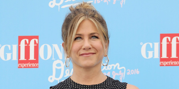 The  Friends  star became the face of Aveeno, a skincare range made by Johnson & Johnson, in 2013. Photo / Getty
