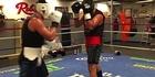 Watch: Watch: Joseph Parker spars ahead of Dimitrenko fight