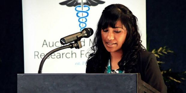 Auckland University researcher Lakshini Mendis.