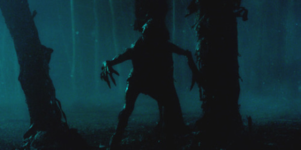 """The monster in """"The Upside Down"""" from Stranger Things."""