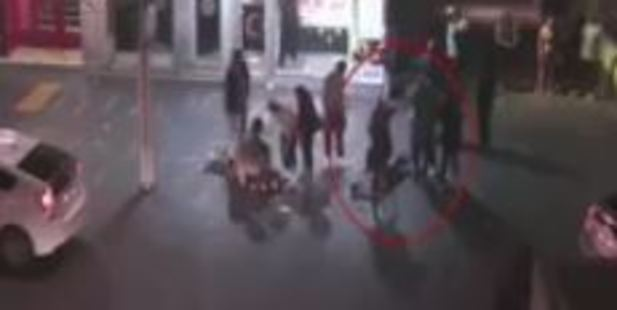 """Loading Police are seeking information on the """"cowardly"""" attackers in the footage. Photo / NZ Police"""