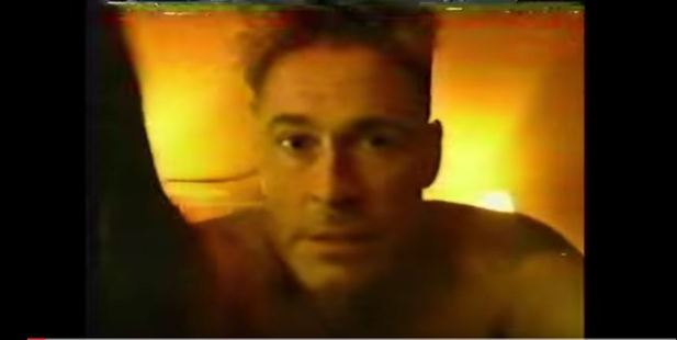 Loading Buck-naked and brandishing a saxophone, Rob Lowe parodied his 1989 sex tape. Photo / Comedy Central YouTube