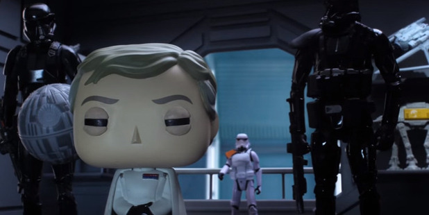Numerous toy makers are in on the series, including Funko's popular Pop Vinyl range.