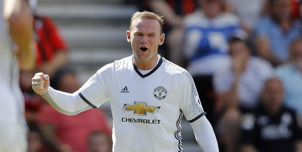 Wayne Rooney. Photo / AP