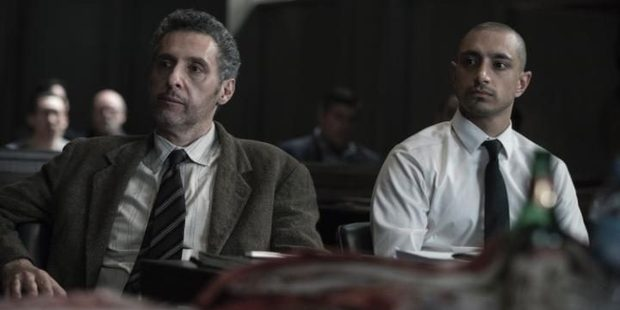 Loading Riz Ahmed (right) is utterly convincing as the accused murderer and his lawyer John Turturro is superb in The Night Of. Photo / HBO