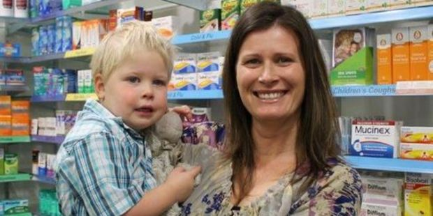 Loading James Brady was nearly poisoned when he swallowed his mother Tina Tyacke's Panadol tablets. Photo / Wairarapa Times-Age