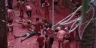 Watch: Watch: Spanish streets turn red from tomato fight