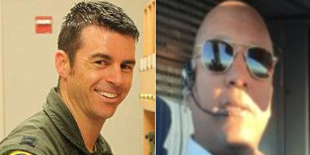 Carlos Licona and Brady Grebenc were arrested on suspicion of being too drunk to fly. Photo / Facebook/LinkedIn