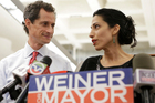 Huma Abedin announced she is separating from her husband, former congressman Anthony Weiner. Photo / AP