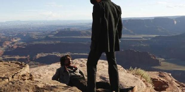 Loading Westworld HBO series. Photo / HBO