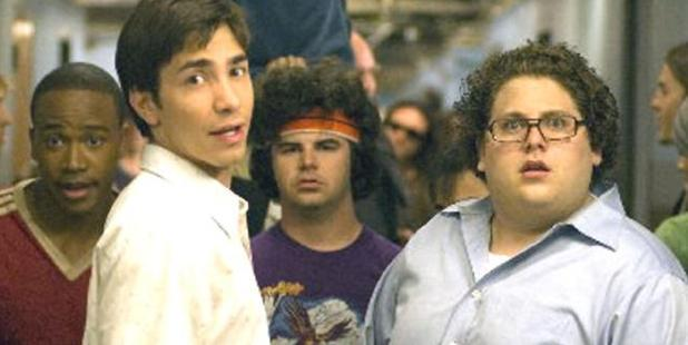 Justin Long and Jonah Hill co-starred in the movie, Accepted.