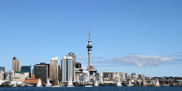 Loading Auckland's economic growth is far outstripping the rest of New Zealand's, driven in part by the city's strongest retail sales growth in a decade. Photo / 123rf.com