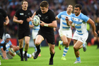 Beauden Barrett will be hoping to continue his stellar form with Argentina in town. Photo /photosport.nz