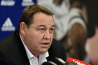 All Blacks coach Steve Hansen says there needs to be clearly defined messages about young people conduct themselves around alcohol. Photo / Photosport
