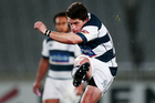 Auckland were left to thank Simon Hickey's accuracy for escaping with victory. Photo / photosport.nz