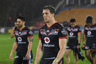 This year was a missed opportunity for Ryan Hoffman and the Warriors, writes Michael Burgess. Photo / Photosport