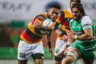 Waikato second five Willis Halaholo in action. Photo / Photosport
