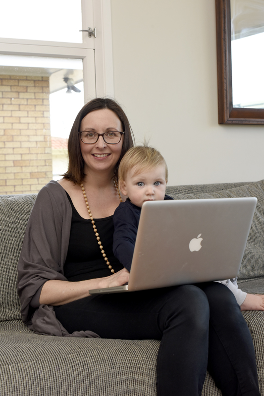 Stacey Kemeys writes a blog from her Tauranga home about feeding children. Her three budding chefs-Archer, nearly 4, Ada, 2, and Eloise, 15 months-help demonstrate kid friendly recipes. PHOTO/GEORGE NOVAK