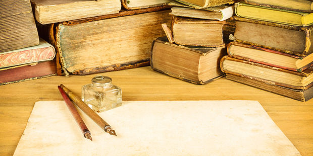 A bookshop owner who discovered the letter was moved to tears when he read it. Photo / 123RF