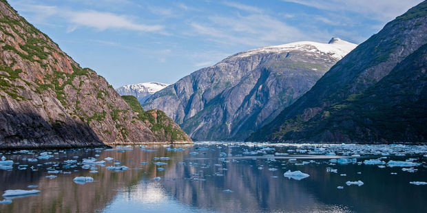 Tracy Arm, a fjord in Alaska near Juneau, is another popular spot for cruise travellers. Photo / 123RF