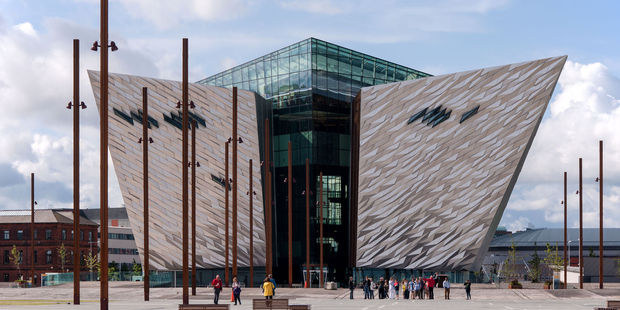 Titanic Belfast has been named the best tourist attraction in Europe. Photo / 123RF