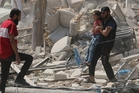 Aleppo has been the scene of some of the fiercest fighting in the five-year Syrian civil war. Pictures / AP