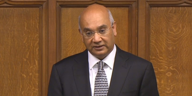 British Labour Party MP Keith Vaz has stepped down as chairman of the Home Affairs committee. Photo / AP