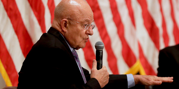Director of National Intelligence James Clapper. Photo / AP
