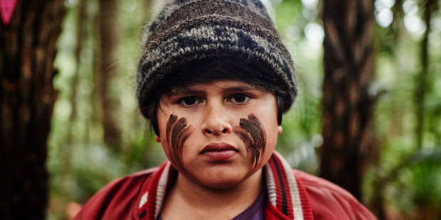 Julian Dennison as Ricky in Taika Waititi's Hunt For the Wilderpeople.