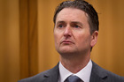 Quinton Paul Winders appearing in the High Court at Rotorua on trial for the murder George Taiaroa. Photo / File