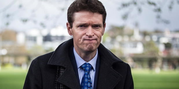 Then-Conservative Party leader Colin Craig the morning after the 2014 election. Photo: Michael Craig