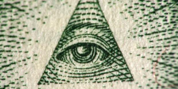 Illuminati confirmed? Probably not.