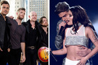 Members of The Fray now have writing credits for Closer, by The Chainsmokers featuring Halsey. Photo / AP