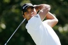 Jason Day's family escaped unscathed from a car accident in Boston, USA. Photo / AP