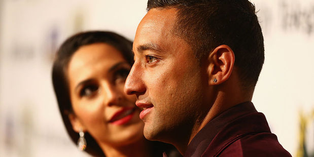 Zoe and Benji Marshall. Photo / Getty Images