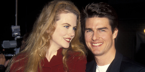 Actress Nicole Kidman and actor Tom Cruise circa 1992. Photo / Getty Images