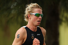Sam Ward competes in the Team Relay Triathlon during of the Australian Youth Olympics. Photo / Getty Images