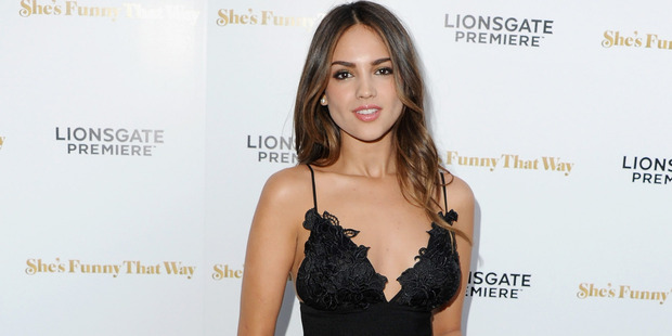 Actress Eiza Gonzalez arrives at the Los Angeles Premiere 'She's Funny That Way' in Los Angeles. Photo / Getty