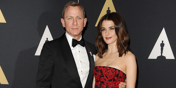 Daniel Craig and Rachel Weisz, the dream couple from Dream House. Photo / Getty Images