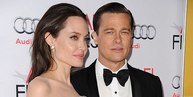 Brad Pitt and Angelina Jolie. Photo / Getty Images