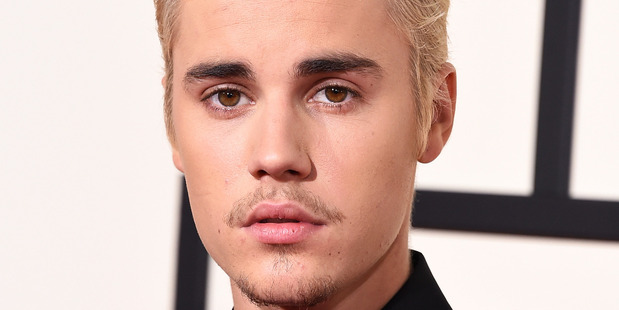 Justin Bieber attends The 58th GRAMMY Awards. Photo / Getty