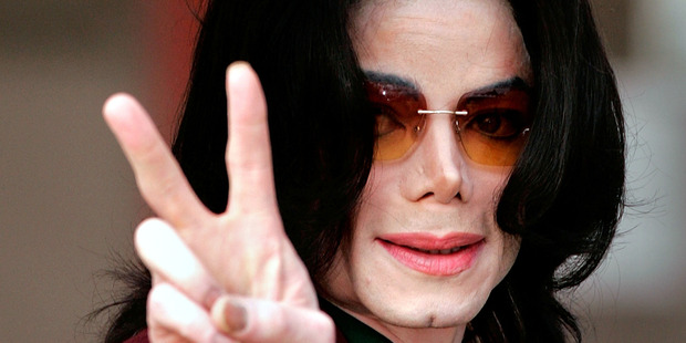Singer Michael Jackson arrives at the Santa Maria Superior Court in 2005. Photo / Getty