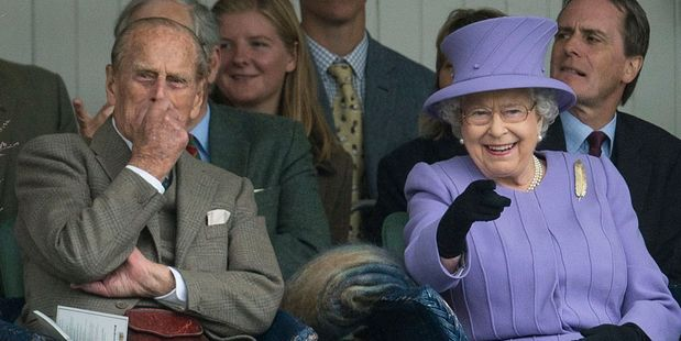 Queen Elizabeth II and Prince Philip, Duke of Edinburgh. Photo / Getty Images