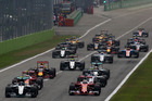 Cars at the start of the F1 Grand Prix of Italy. Photo / Getty Images