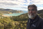 Vatican Observatory director Brother Guy Consolmagno at Great Barrier Island. Photo / Jamie Morton
