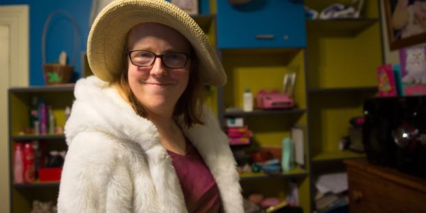 Fashion designer Jessica from Amy Street.