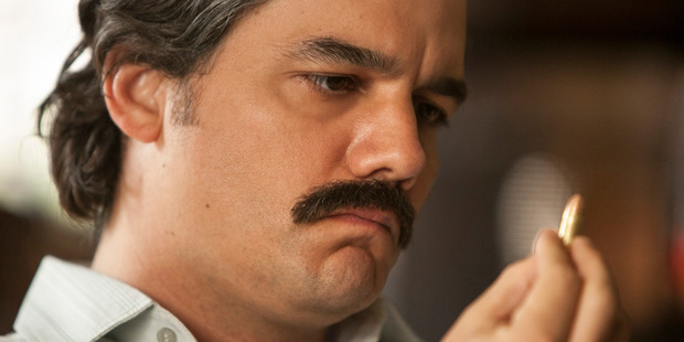 Loading Wagner Moura as Pablo Escobar in Narcos' excellent season two on Netflix.
