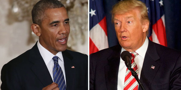 Loading US President Barack Obama says Republican Presidential candidate Donald Trump isn't qualified to be President. Photo / Getty Images