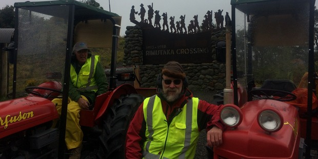 "The ""Expedition South"" made it to the top of Rimutaka Hill. Photo / Supplied"