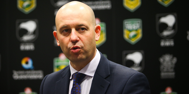 NRL chief executive Todd Greenberg has warned of life bans for match-fixing. Photo / photosport.nz